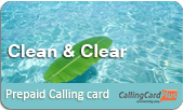 Clean and Clear Calling Card