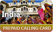 India Plus phone cards & India Plus calling cards