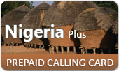 Nigeria Plus Calling Card