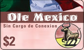 ole mexico calling card - Mexico Calling Card