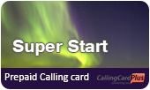 Super Star Calling Card