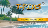 T-Plus phone cards & T-Plus calling cards