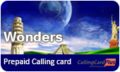 Wonders phone cards & Wonders calling cards
