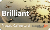 Brilliant phone cards & Brilliant calling cards