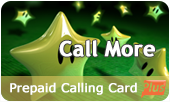 Call More Calling Card